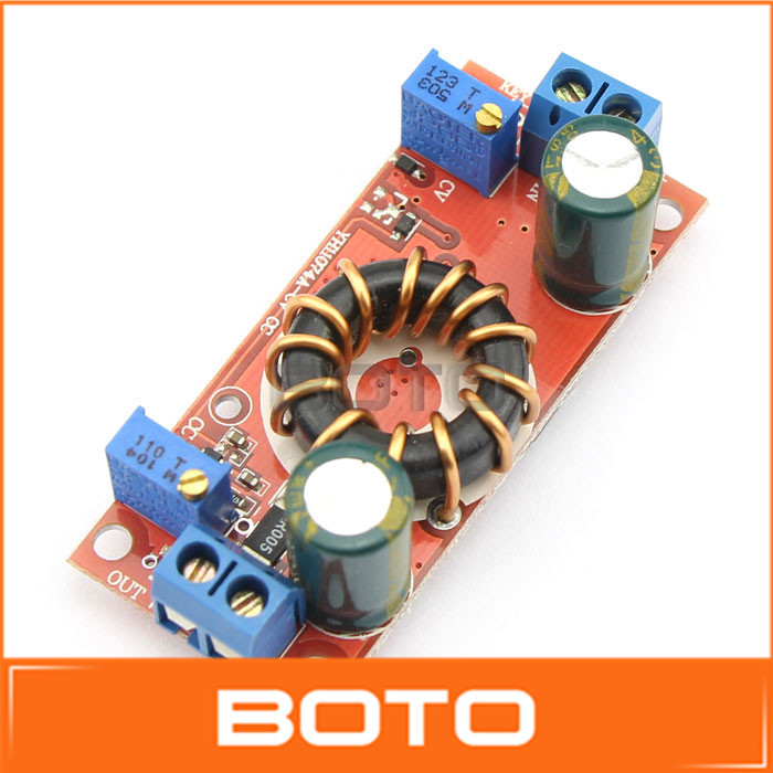 DC Buck Converter 4-32V to 1.2-32V Adjustable Constant Voltage Constant Current Module Solar Lithium Battery Charging #200484(China (Mainland))
