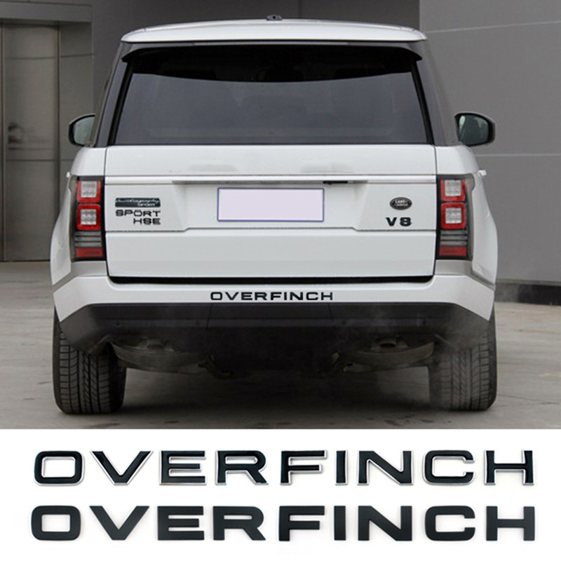 NEW Range Rover Land Rover Sport trunk badge emblem discovery 1 HSE BLACK