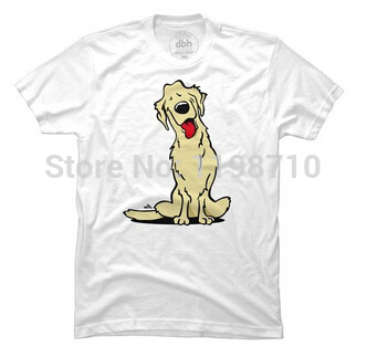 Cartoon golden retriever dog S And T Golden Retrievers