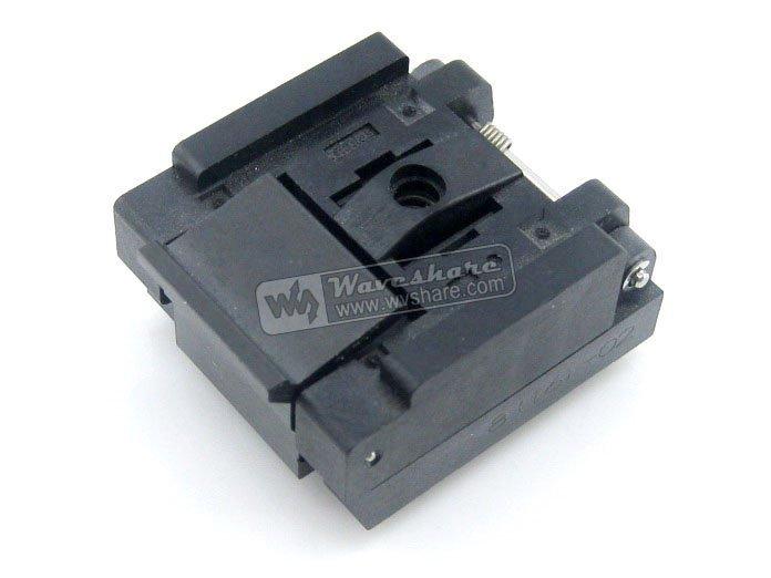 QFN8 MLP8 MLF8 QFN-8(16)B-0.65-02 Enplas IC Test Socket Programming Adapter 3x3 mm 0.65mm Pitch Free Shipping<br><br>Aliexpress