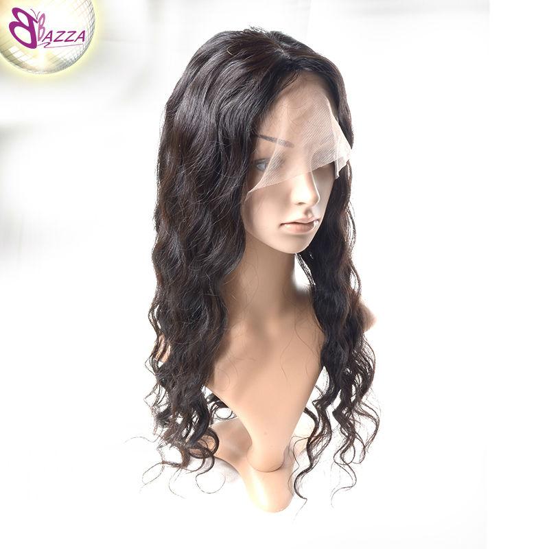 Unprocessed Brazilian Full Lace Human Hair Wigs high quality Natural black brazilian loose wave Dyeable brazilian full lace wig(China (Mainland))