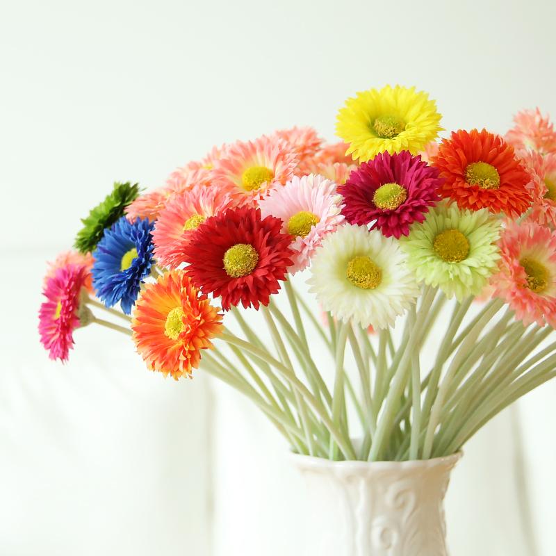 16inch Tall Artificial Flowers Silk Flowers Gerbera Daisy