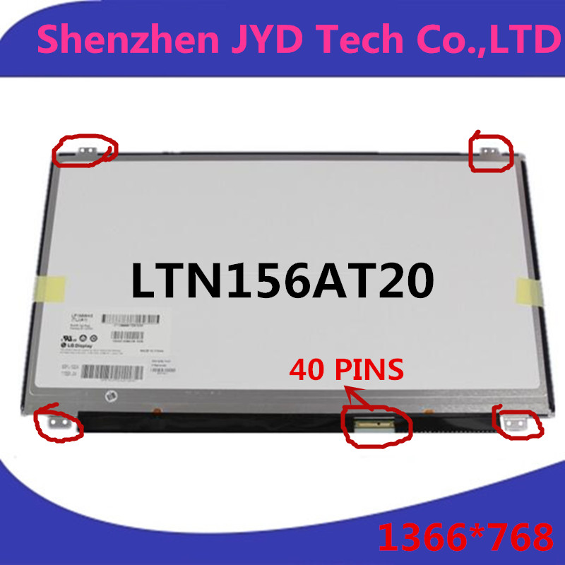 new and original 15.6 Laptop LCD Screen Replacement LTN156AT20 LP156WH3 TLA1 LP156WHB TLA1 B156XW04 N156BGE(China (Mainland))