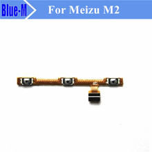 1Piece Original For Meizu M2 Noblue 2 Side Power ON OFF Volume Key Button Switch Flex Cable Ribbon Replacement Repair Parts
