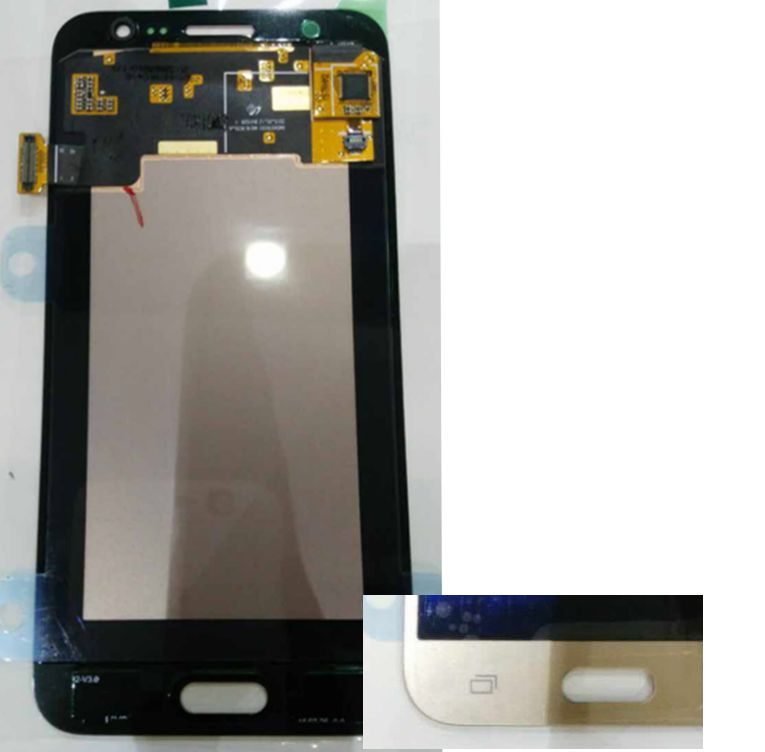 Gold color Original Amoled LCD Display +Touch Screen Digitizer assembly for Samsung Galaxy J5 J500F Europe verion(China (Mainland))