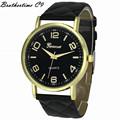 2016 New Design Dress Ladies Watches Women Geneva Leather Analog Clock Women Hour Quartz Wrist Watch