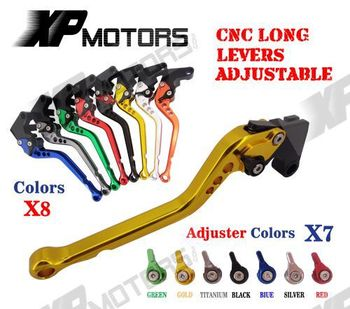 CNC Long Brake Clutch Levers For Yamaha YZF R6 1999 2000 2001 2002 2003 2004 R1 2002 2003 R6S FZ1 FAZER