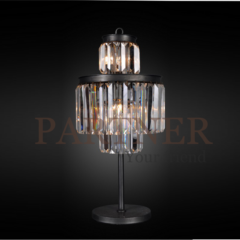 nordic american country dining room table lamp crystal