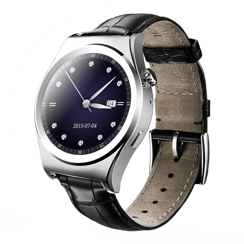 Business Style Retro X10 Bluetooth 4.0 Smart Watch Anti-lost Pedometer Sedentary Reminder Mobile Wristwatch Remote camera(China (Mainland))