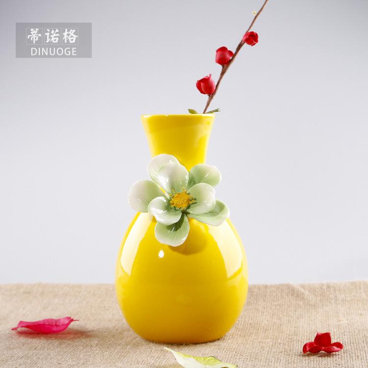 moderne kreative stil blumenmuster keramik blumenvase. Black Bedroom Furniture Sets. Home Design Ideas