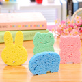 1 pc Baby Bath Cotton Pulp Baby Bath Sponge Rub Zao Baby Wipes Children Bath Baby