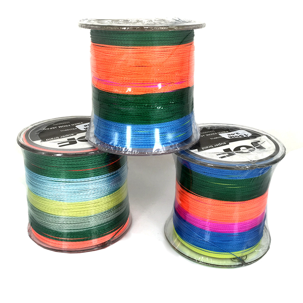 Cheapest !!! JOF 2016 New Multifilament PE Braided Fishing Line Carp Fishing Rope Wire 150m Super Strong 4 Stands(China (Mainland))