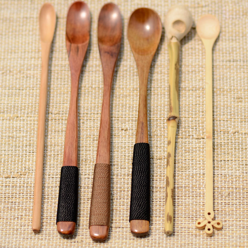 1PC Japanese Handmade Bamboo Matcha Tea Whisk Tea Spoon Eco-Friendly