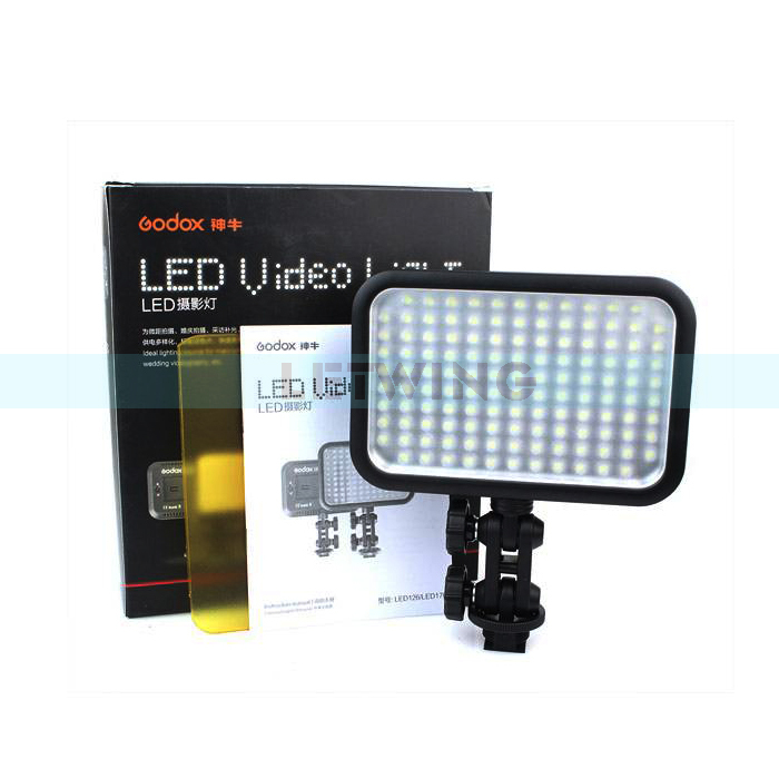 Godox LED 126 Video Lamp Light for Digital Camera Camcorder DV Wedding Videography Photo journalistic Video Shooting<br><br>Aliexpress