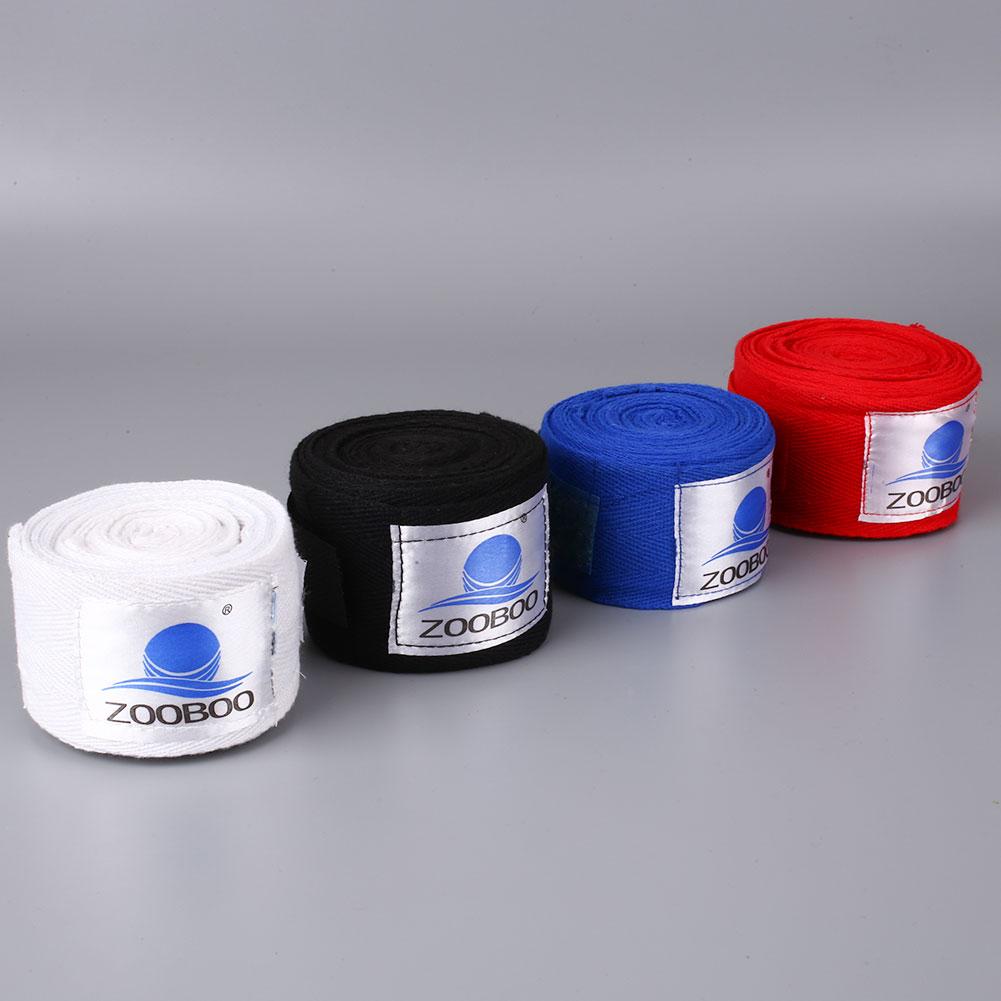 1 Pair 3M Cotton Punching Hand Wraps Boxing Inner Gloves Wrist Bandage Straps(China (Mainland))