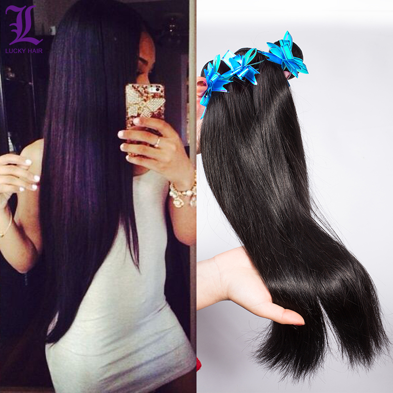 3Pcs Brazilian Straight Hair Brazilian Virgin Hair Straight Weave Bundles Hair Extensions Queen Human Hair