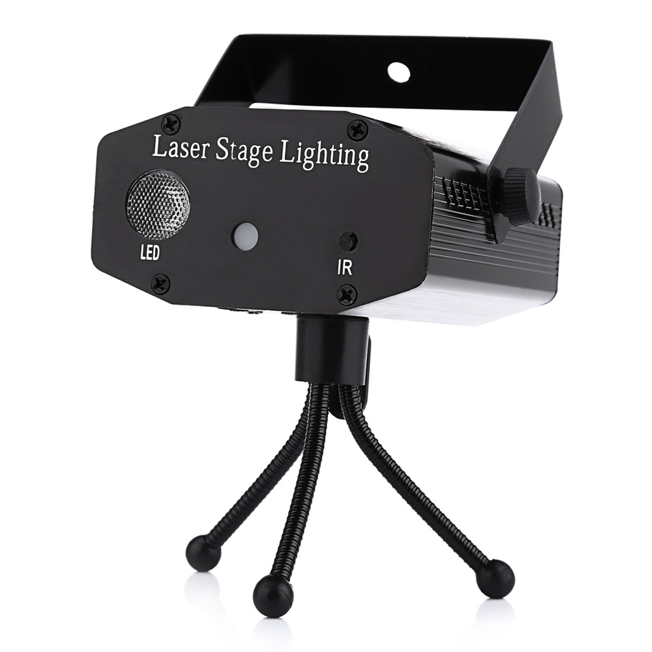 Mini LED Laser Pointer Disco Stage Light Party Pattern Lighting Projector Show IR Remote RG Laser Projector Lights(China (Mainland))