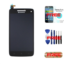 100% Original For Lenovo Vibe X S960 LCD Display + Touch Screen Digitizer Assembly Replacement  +Tempered Glass+Tools+Sticker