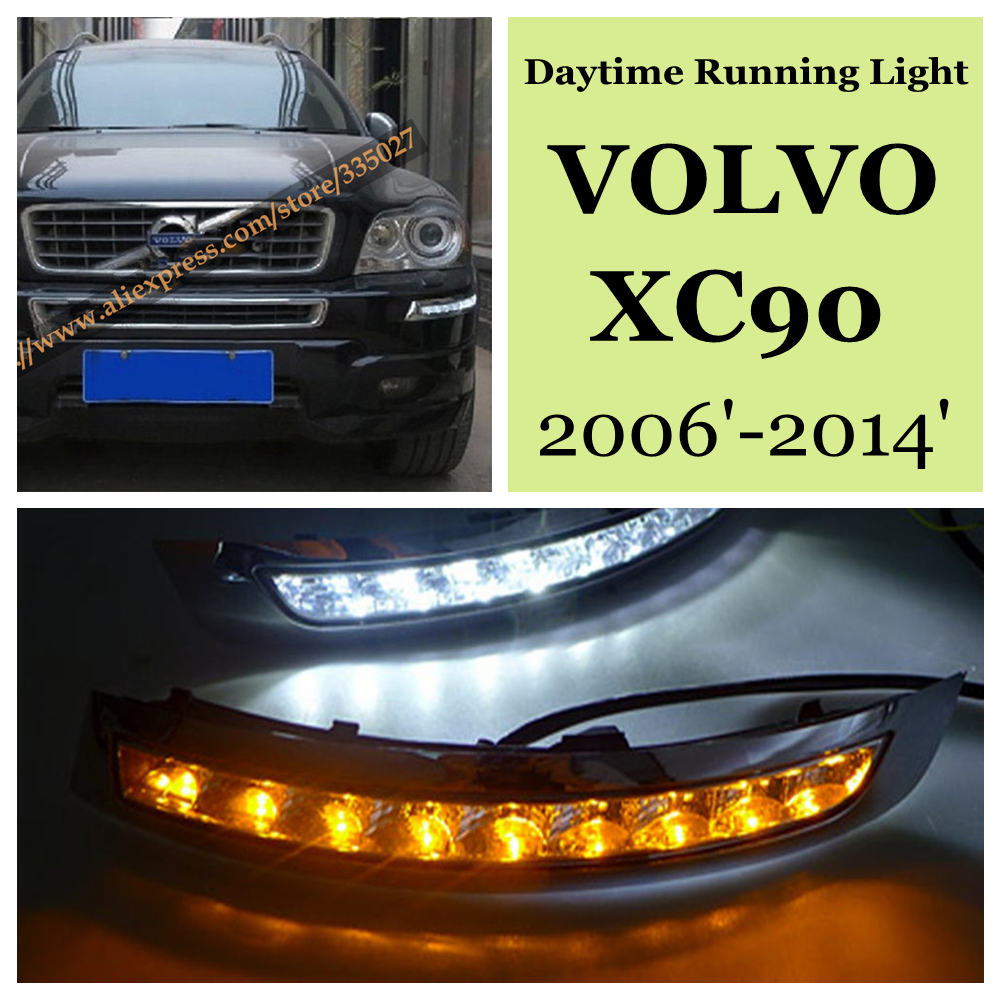 LED VOLVO XC90 Daytime Running/Driving Light for VOLVO ...