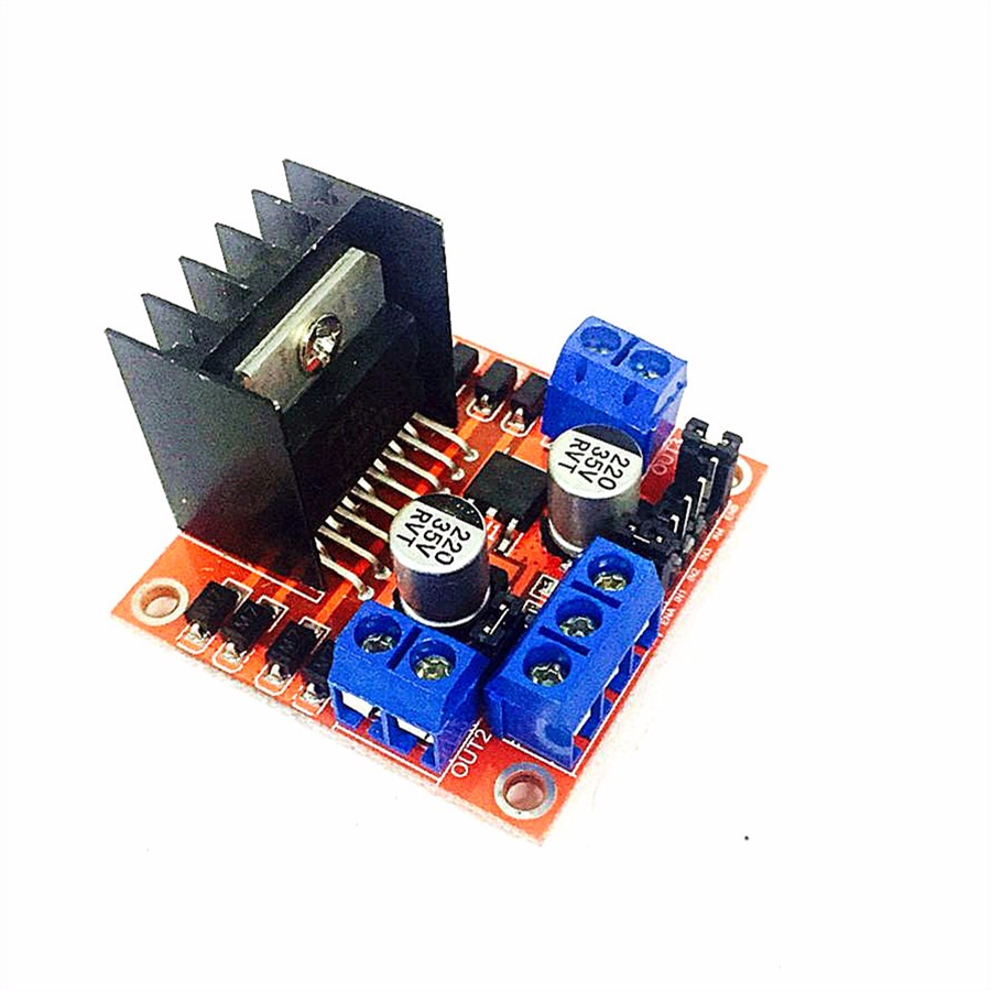 Special promotions 5pcs lot l298n motor driver board for Arduino and stepper motor
