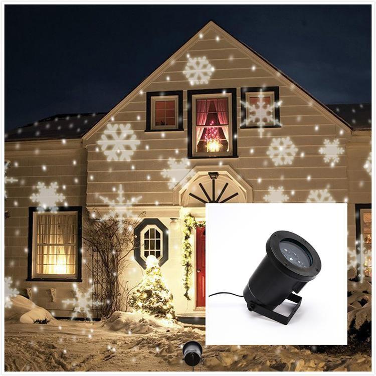 Здесь можно купить  220V UK plug free shipping Halloween Christmas pattern outdoor lighting lights show projector/Snowflake light for Outdoor  Свет и освещение