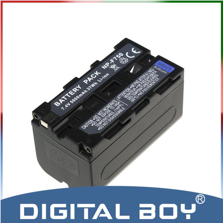 Digital boy High capacity 1Pcs NP F750 NP F750 F730 F770 Battery for Sony NP F770