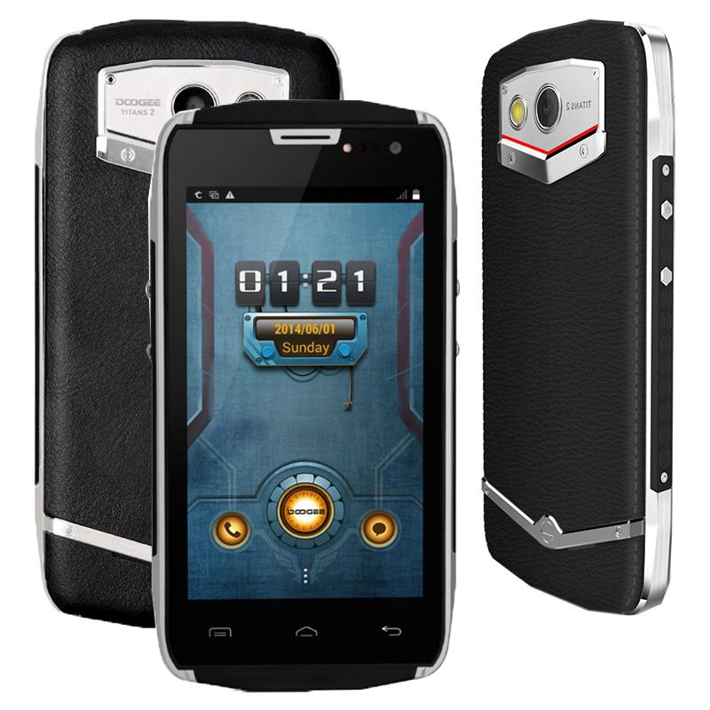 "Waterproof DOOGEE DG700 TITANS2 Mobile Phone 4.5"" IP67 IPS OGS MTK6582 Quad Core Android 5.0 1GB 8GB 8M OV Camera 3G OTG 4000mAh"
