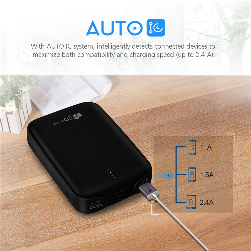 Type-C 10000mah Power Bank 18650 Dual USB Mobile Phone Charger Powerbank For iPhone 7 6 6s Xiaomi mi5 Redmi3 Pover Bank