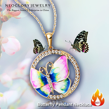 Neoglory MADE WITH SWAROVSKI ELEMENTS Rhinestone 14K Gold Plated Stoving Varnish Pendant Necklace For Women New  Arrival  2014