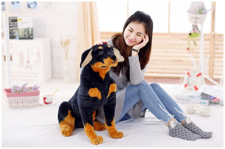 big lovely plush simulaiton German shepherd dog toy new sitting dog doll gift about 70cm<br><br>Aliexpress