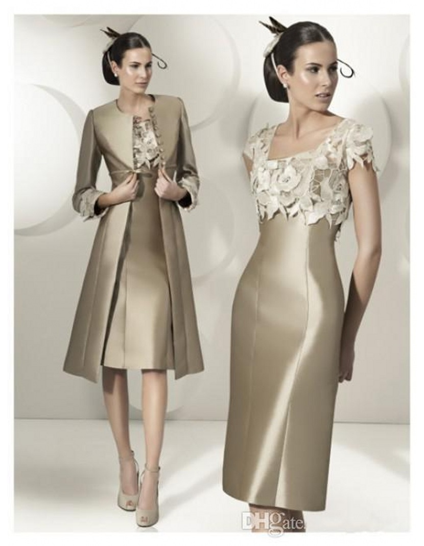 Buy fashionable hot 2015 satin appliques for Dress and jacket for wedding guest