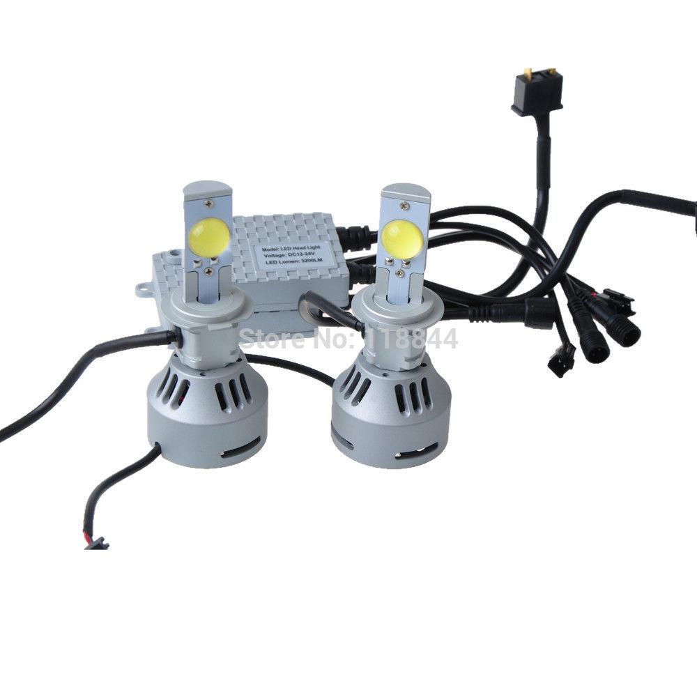 2015 New 1Set 60W 5400LM H7 Xenon Hid High Power Cree LED Headlight Kit Lamp 6000K Super White DC 12V- 24V Free Shipping<br><br>Aliexpress