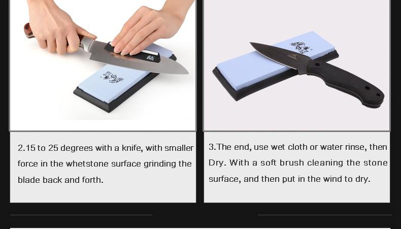 Buy TAIDEA 2000 Grit Knife Sharpener Corundum Whetstone Sharpening Stone Professional Knife Grindstone cheap