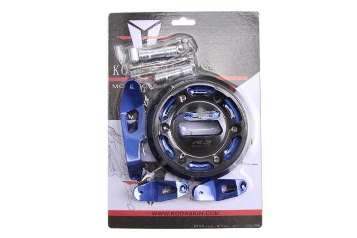 Купить KODASKIN ЧПУ Алюминиевый Мотоциклов Статора Двигателя Крышка Защиты Для Yamaha YZF YZF-R3 YZFR3 R3 2015-2016 15 16