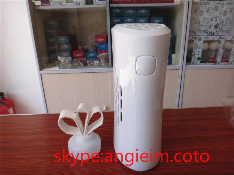 refillable battery operated aroma dispenser automatic aerosol dispenser fan dispenser fragrance machine perfume air purifier(China (Mainland))