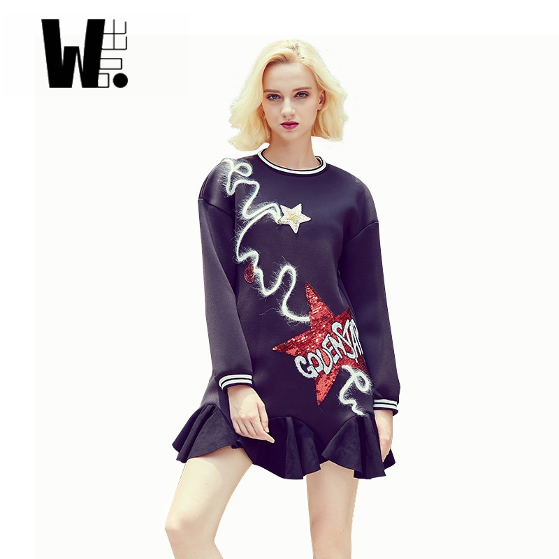 Long Sleeve Mini Dress Promotion-Shop for Promotional Long Sleeve ...