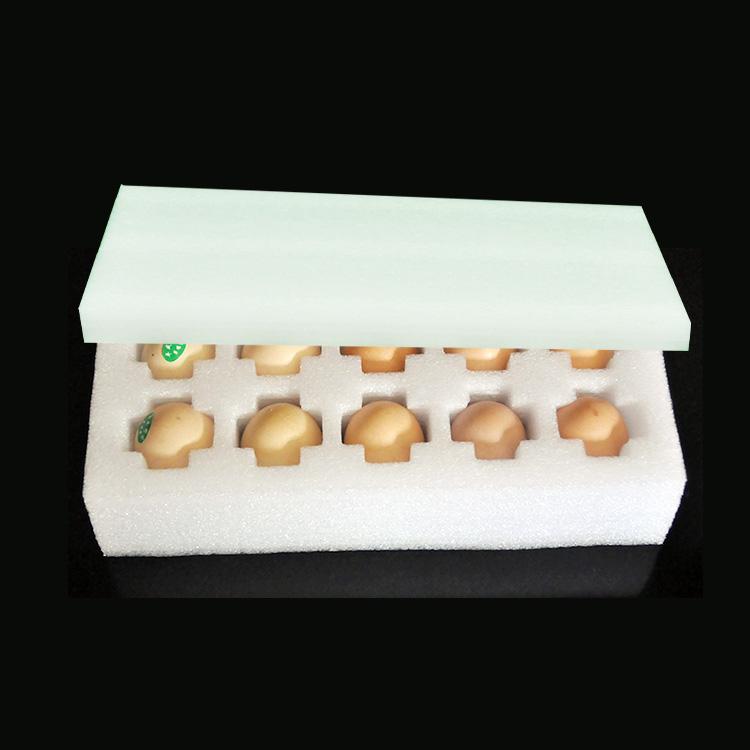 270*125mm EPE Foam For 10 Eggs Diameter 30-40mm Packaging Materials Buffer Packing Foam Sheet Polyethylene Imballaggio Bolle(China (Mainland))