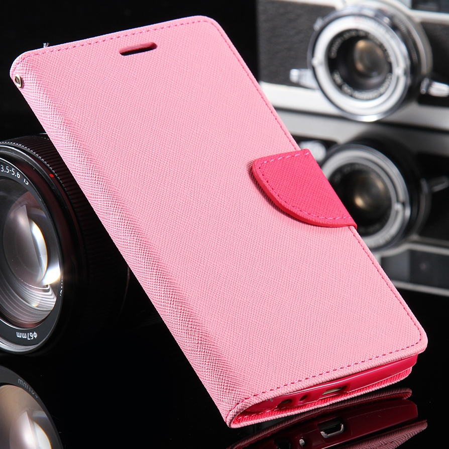 For LG G4 Cell Phone Cases Fashion Hit Color Stand Wallet With Card Slot Case Cover For LG Optimus G4 VS986 LS991 F500 H815 H811(China (Mainland))