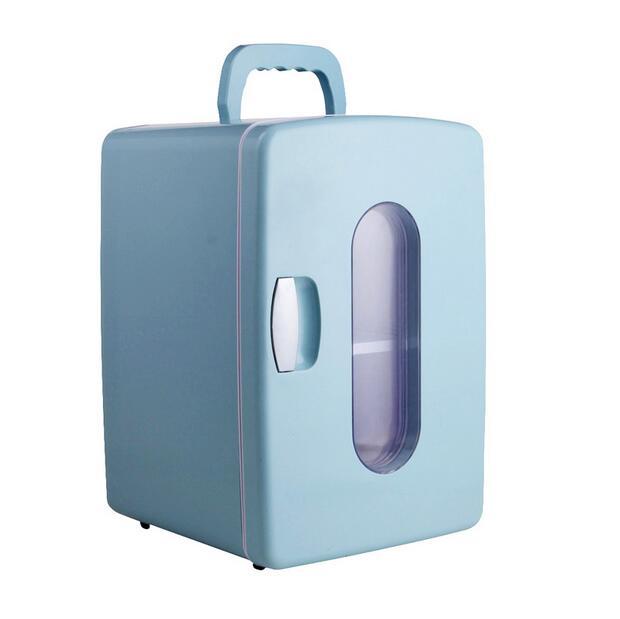 Фотография 12L Refrigerator mini Household Car Autorefrigerator Mini fridge Home 220v 12v