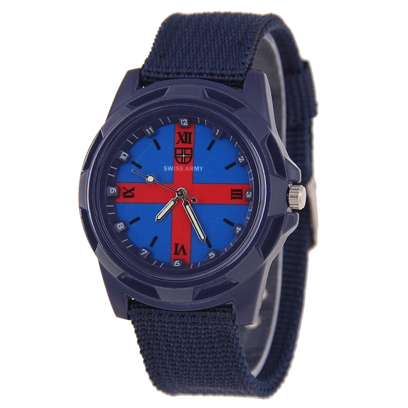 2016 Hot Sale Sport Men Watches Pointer Cross Cool Boys Wristwatch Retro Casual(China (Mainland))