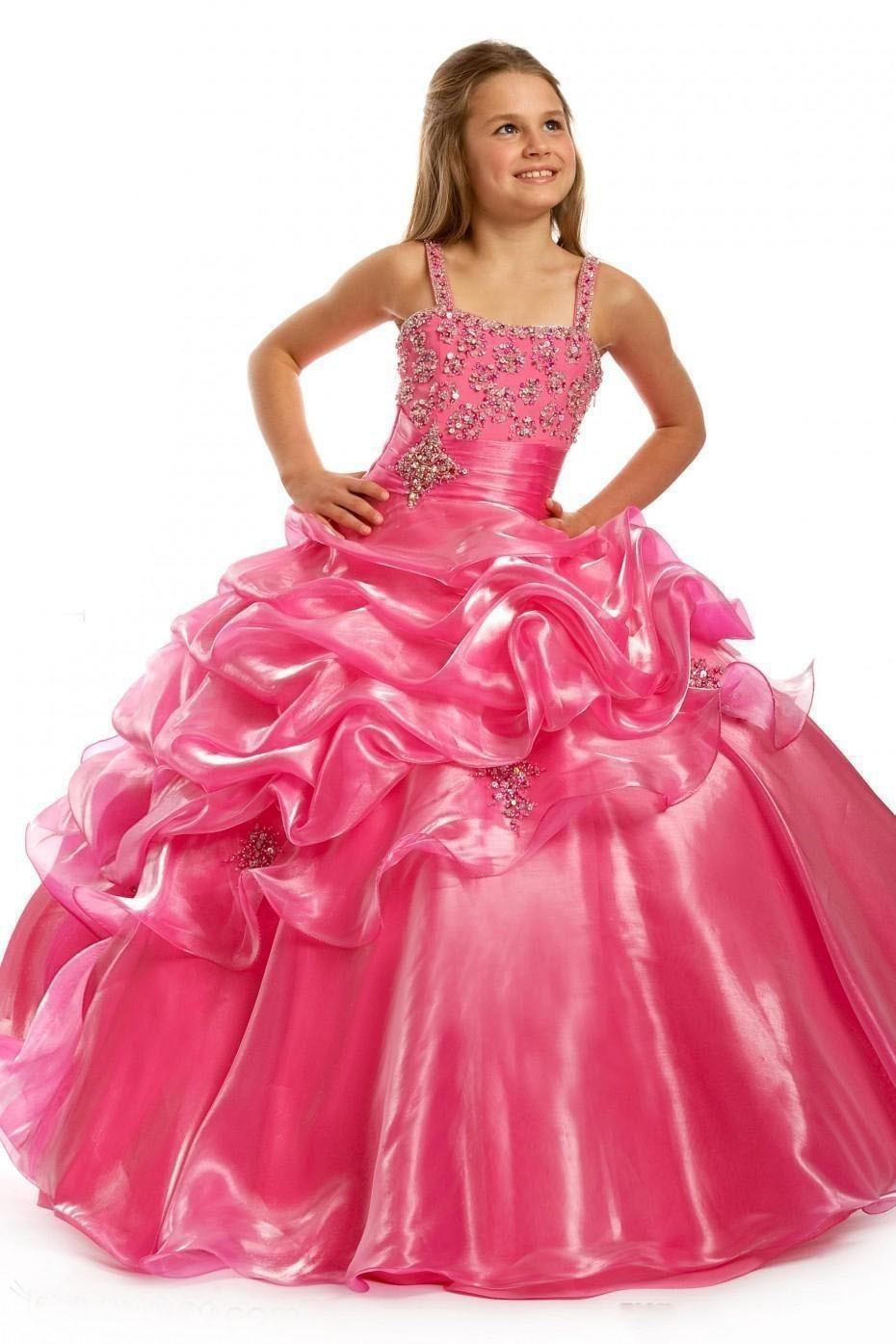 Фото красивого платья на девочку