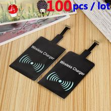 Buy 100PCS Universal Qi Wireless Charger Receiver Charging Adapter Receptor Receiver Pad Coil Android Phone Micro USB Charger for $122.00 in AliExpress store