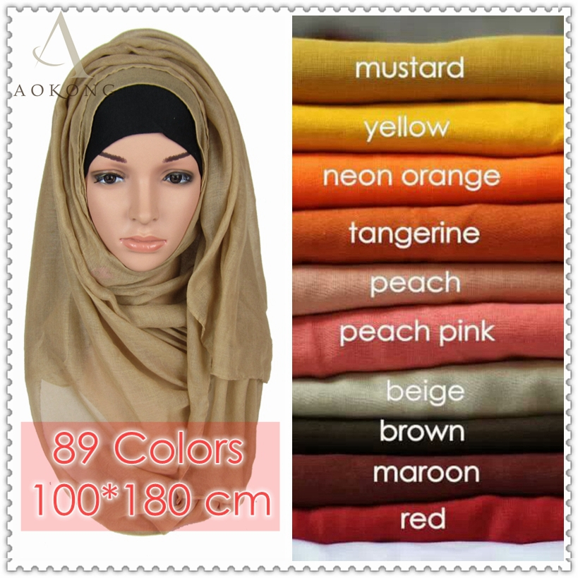 10pcs/lot mixed solid plain hijab scarf fashion wraps foulard viscose cotton maxi shawls soft long islamic muslim scarves hijabs(China (Mainland))