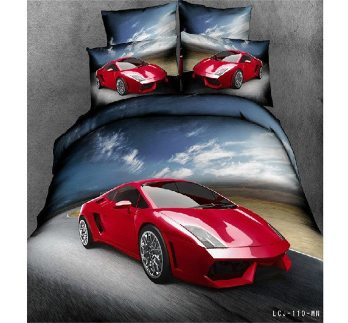 Cars Queen Size Bedding
