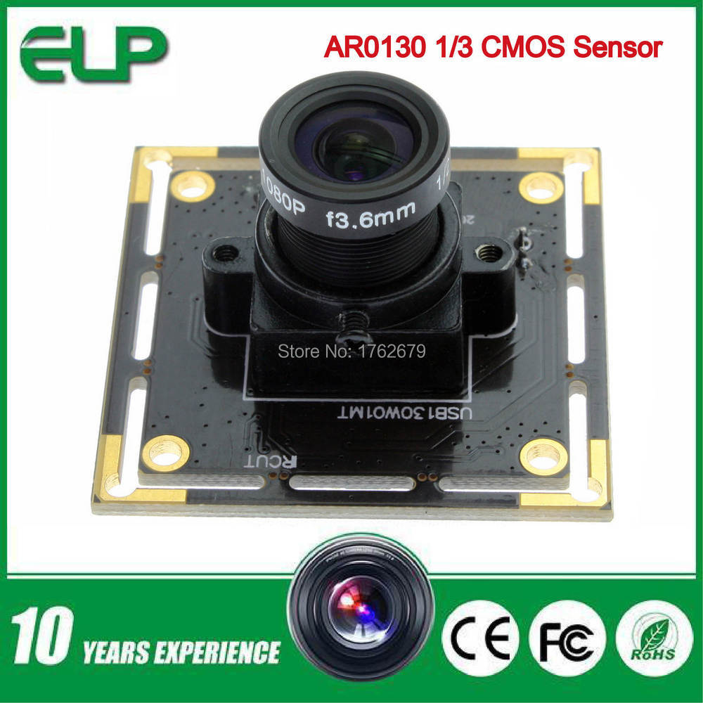 HD 1.3 megapixel low illumination usb security endoscope camera module ELP-USB130W01MT-L36<br><br>Aliexpress