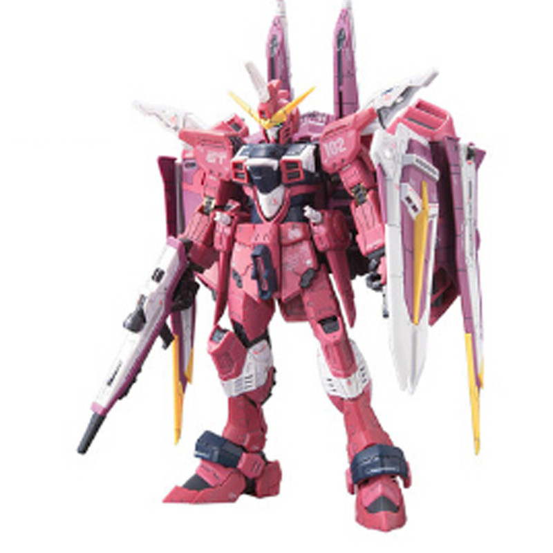Starz BANDAI RG 1/144 ZGMF-X09A JUSTICE GUNDAM SEED Model Anime Building Kits Figures Colletion Robot Toys Athrun Zala<br><br>Aliexpress