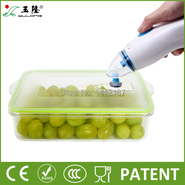 2014 Hot sale plastic fresh box for food, food storage container,vacuum box for food preservation with free shipping(China (Mainland))