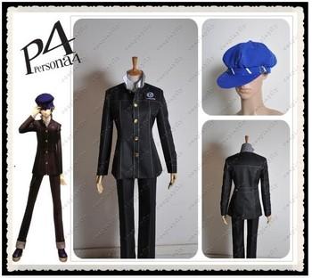 New Arrival Shin Megami Tensei: Persona 4 P4 Cosplay School Boy Uniform Costume Hat