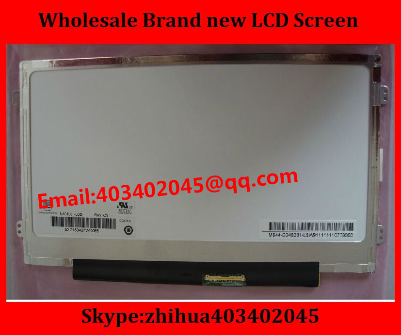 """Brand new Laptop Replacement Monitor M101NWT2 R3 R0 CLAA101NB03A B101AW06 V.1 N101L6-L0D LTN101NT08 LCD Screen 10.1""""LED Pane(China (Mainland))"""