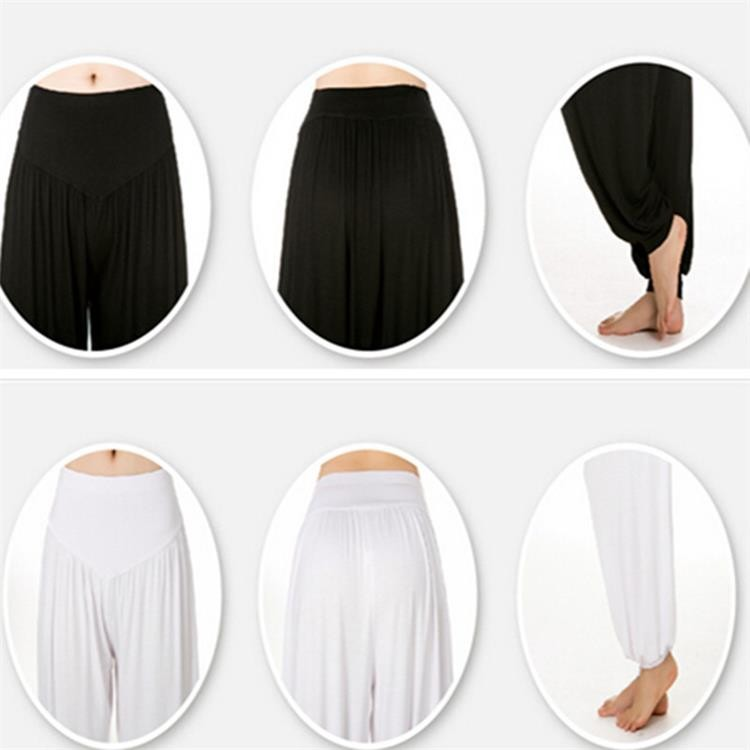 Yoga Pants Women Plus Size Colorful Bloomers Dance Yoga TaiChi Full Length Pants Smooth No Shrink Antistatic Pants Fast Shipping 2015 007